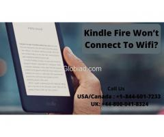 Kindle Fire Won't Connect To Wifi? Call To Fix +1–844-601-7233