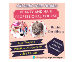 Beauty and Hair Professional Course with British Certificate